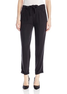 Michael Stars Women's Tencel Pant with Tie Waist