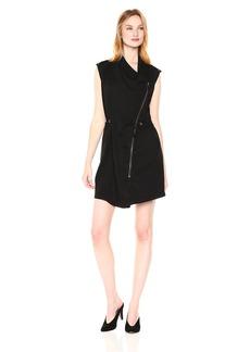 Michael Stars Women's Tencel Stretch Twill Convertible Vest/Dress  M