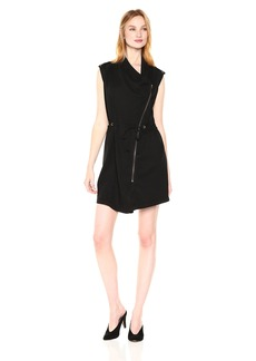Michael Stars Women's Tencel Stretch Twill Convertible Vest/Dress  S