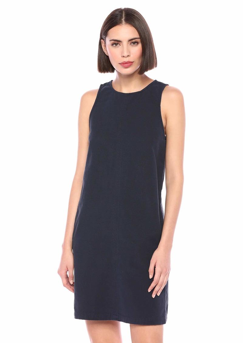 Michael Stars Women's Textured Cotton Riley Sleeveless Shift Dress