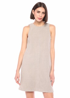 Michael Stars Women's Textured Cotton Riley Sleeveless Shift Dress