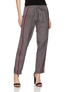 Michael Stars Women's Tie Print Drawstring Pant  M