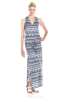 Michael Stars Women's Tribal Print Halter Maxi Dress