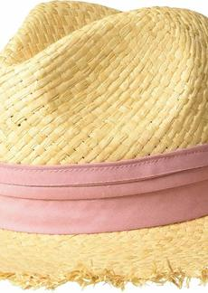 Michael Stars Women's Trilby Wide Brim Boater hat