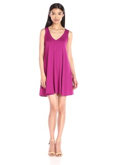 Michael Stars Women's V Neck Tank Dress
