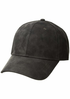 Michael Stars Women's Washed Faux Leather Cap