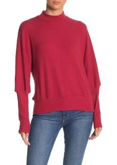 Michael Stars Mock Neck Dolman Long Sleeve Sweater