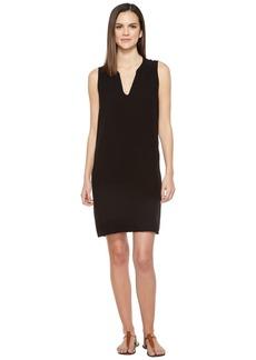 Michael Stars Modern Rayon Sleeveless V-Neck Dress
