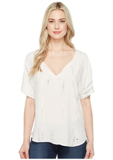 Michael Stars Naomi Wash Peasant Top