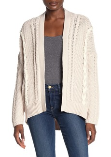 Michael Stars Oversized Lace-Up Cardigan