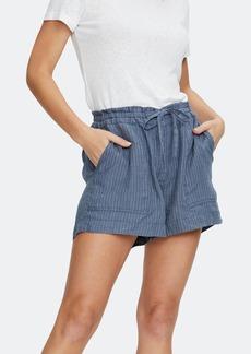 Michael Stars Paulette Ruffled Waist Shorts - M - Also in: S, L, XS