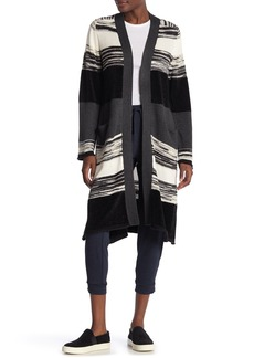 Michael Stars Pocket Front Marled Stripe Duster