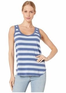 Michael Stars Rugby Stripe Sharon Tank Top