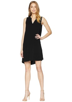 Michael Stars Rylie Rayon Sleeveless V-Neck Dress