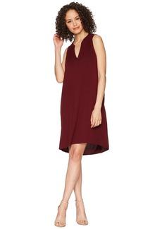 Michael Stars Rylie Rayon Sleeveless V-Neck Dress