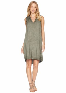 Michael Stars Sailor Wash On Rylie Rayon Sleeveless V-Neck Dress