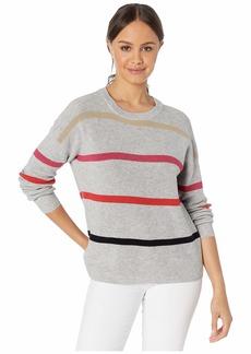 Michael Stars Sammi Crew Neck Striped Pullover