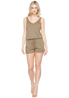 Michael Stars Sleeveless V-Neck Romper