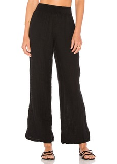 Michael Stars Smocked Wide Leg Pant