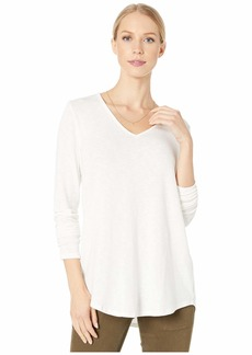 Michael Stars Tahoe Jersey Bonnie Long Sleeve High-Low Tunic