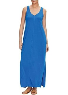 Michael Stars Trina Cotton Modal V-Neck Maxi Dress