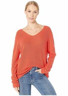 Michael Stars Verona Knits Miranda Soft V-Neck Pullover Sweater