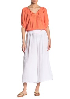 Michael Stars Wide Leg Cropped Pants