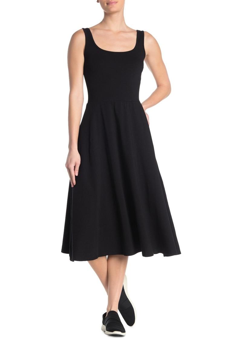 Michael Stars Willow Fit & Flare Midi Dress
