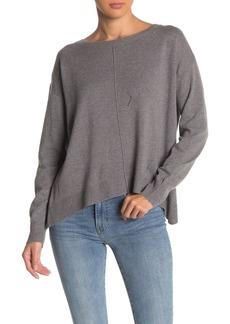 Michael Stars Wool Blend Crew Neck Long Sleeve Sweater