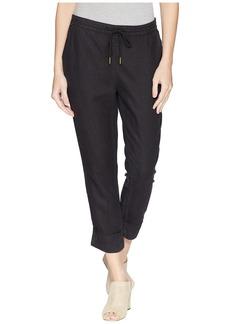 Michael Stars Woven Linen Cuffed Trouser