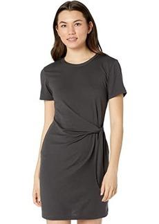 Michael Stars Zooey Cotton Modal T-Shirt Dress w/ Tie Waist