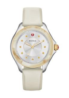 Michele Cape Horn Watch w/ Silicone Strap