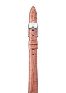 MICHELE Alligator Watch Strap, 14mm
