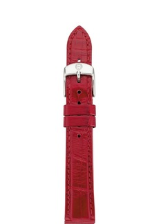 MICHELE Alligator Watch Strap, 16-20mm