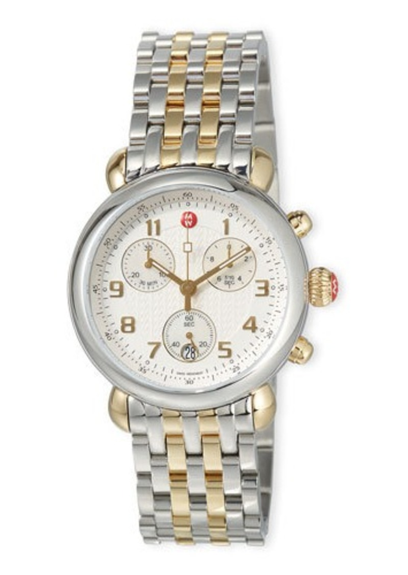 MICHELE CSX Two-Tone Bracelet Watch