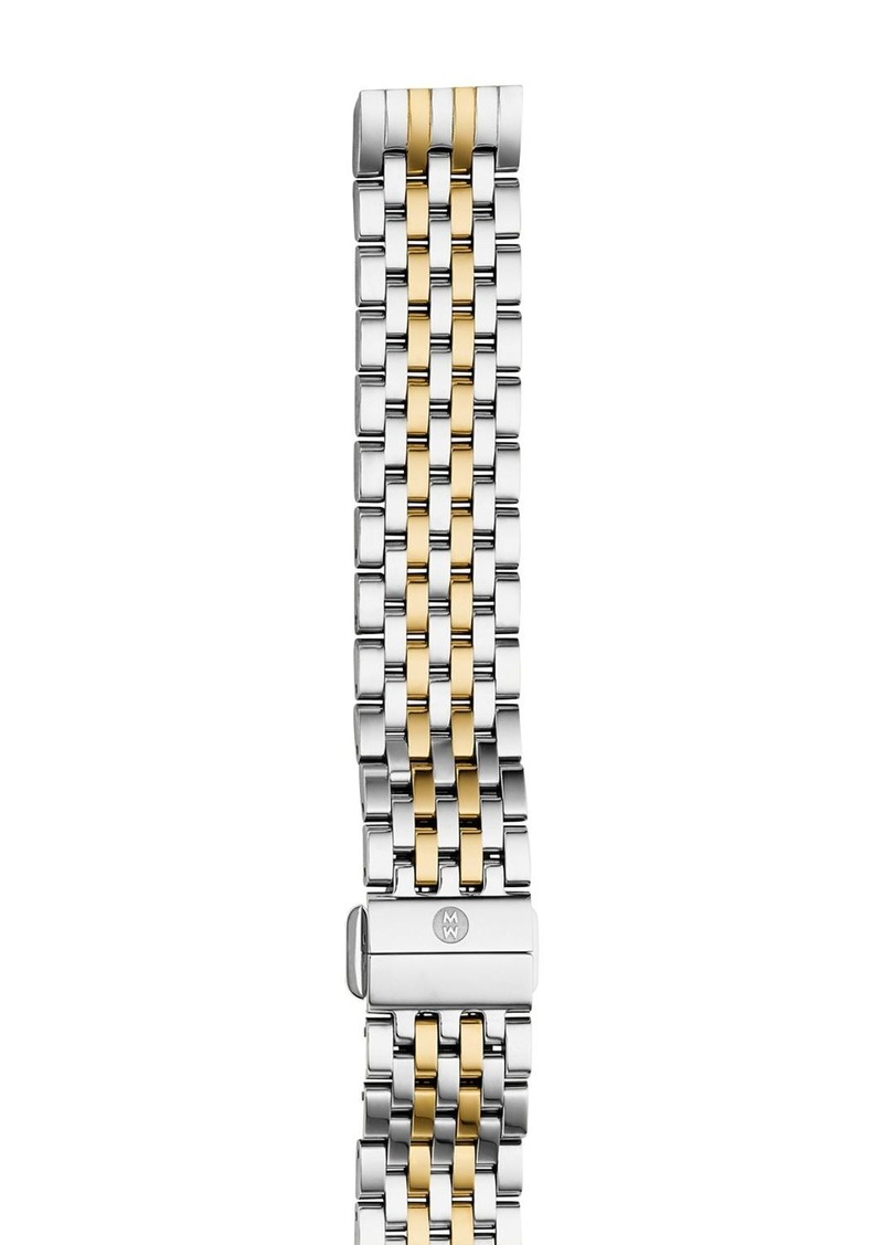 MICHELE Deco II Mid Two-Tone Watch Bracelet, 16mm - 100% Exclusive