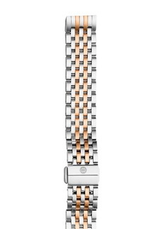 MICHELE Deco II Two-Tone Watch Bracelet, 16mm