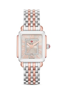 MICHELE Deco Madison Mid Diamond Watch Head, 29mm x 31mm