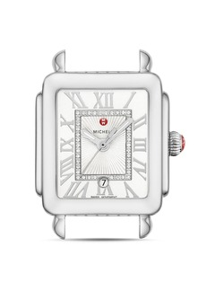 MICHELE Deco Madison Mid Stainless-Steel Diamond White Dial Watch Head, 29mm x 31mm
