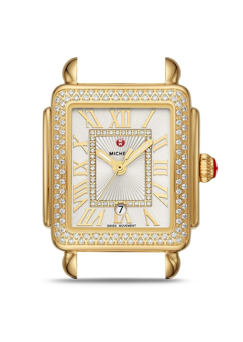 MICHELE Deco Madison Mid Watch Head, 29mm x 31mm