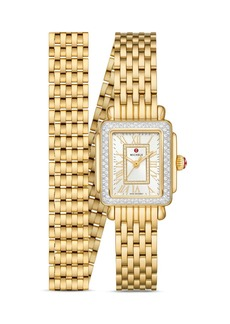 MICHELE Deco Madison Mini Diamond Watch, 22mm x 35mm