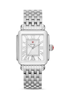 MICHELE Deco Madison Watch, 33mm
