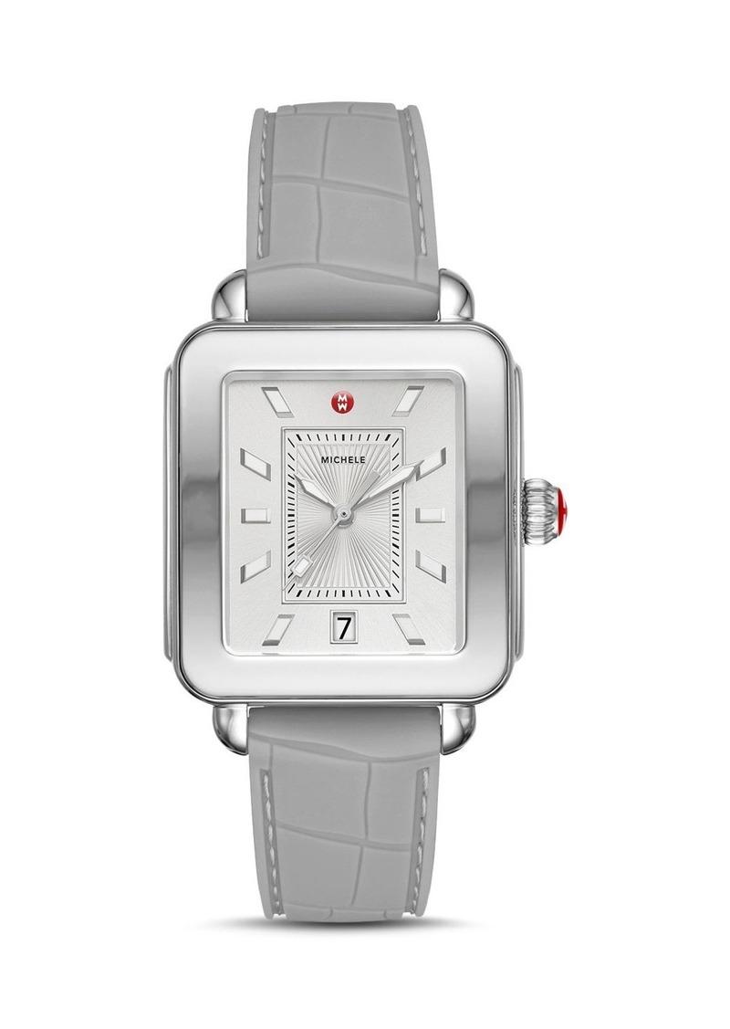 MICHELE Deco Sport Two-Tone Watch, 34mm x 36mm