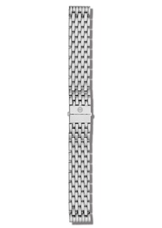 MICHELE Deco/Deco Madison Stainless Steel 7-Link Watch Bracelet, 16-18mm