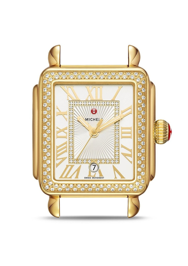 MICHELE Deco Madison Watch Head, 35mm