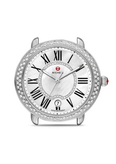MICHELE Serein 16 Diamond Dial Watch Head, 36 x 34mm
