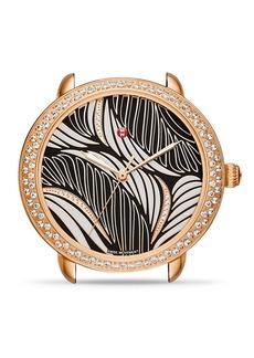MICHELE Serein 16 Willow Diamond Dial Watch Head, 34mm
