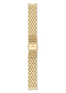 MICHELE Serein/Serein 16 Gold Watch Bracelet, 16-18mm