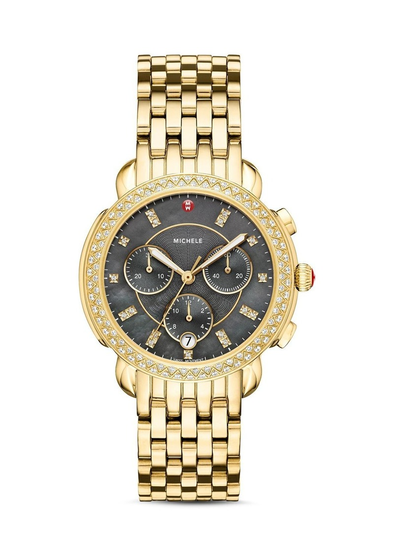 MICHELE Special-Edition Sidney Diamond Chronograph, 38mm