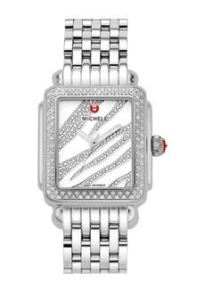 Michele Women's Deco Diamond Watch